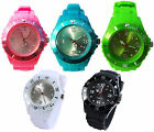 NEW JELLY BOYS GIRLS MENS WOMENS KIDS MANS WRIST WATCH RUBBER SILICONE
