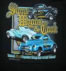 Stone Woods and Cook 40-41 Willys Drag Racin T-Shirt Most Popular Car Of All Time