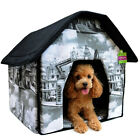 Portable Pet House Bed Collapsible Warm &Soft Indoor For Dogs/Cats Pet House Bed