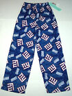 Nwt New York Giants NY NFL Football Sleepwear Sleep Lounge Pants Blue Nice Boy