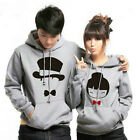 6 Different colors Cute Love Lovers Sweater Hoodie women men Thick Keep warm #J