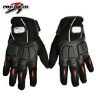 Motorcycle Bike full finger Protective gear Racing Gloves leather Lycra stretch