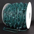 1,000 Foot C9 Outdoor Intermediate Base Christmas Light Bulk Spool-1000 Sockets