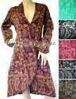 6Colour Fluffy COAT Smoking Jacket STEAMPUNK Boho VICTORIAN Hippy Manga S M L XL