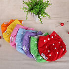 New Adjustable Button Baby Girl Boy Pocket Colth Nappies Diaper 7 Colors Supply