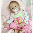 Nicery Acrylic Silicone Reborn Doll Lifelike Reborn Baby Doll Girl Toy 22in.