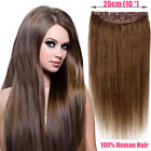 Thick 120g140g160g180g200g Full Head Five Clips in Onepiece Human Hair Extension
