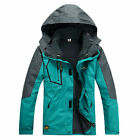 Men 3in1 Waterproof Soft Ski Snowboard Outdoor Sports Windproof Jacket Warm Coat