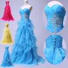 Sweetheart Bridesmaid Formal Homecoming Evening Prom Masquerade Long Gown Dress