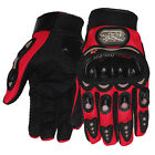 5 Pairs Carbon Fiber Motorcycle Dirt Bike Pro-Biker Protective Racing Gloves