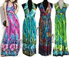 BOHO Floral Womens Sexy Party Beach Maxi Dress/Bikini Cover Up AU SELLER dr142