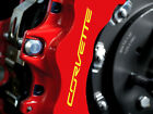 8 X Corvette C7 Brake Caliper Decals Stickers Z06 ZR1 Graphics Emblem Logo I