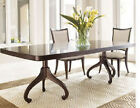 Thomasville Nocturne Dark Mahogany Double Pedestal Dining Table LAST ONE!!!