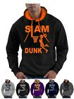 Slam Dunk Basketball Hoodie Hoop Ball Hooded Sweatshirt  - Smartphone Compatable