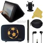 "EXEC ZIPPED FOLIO 'FOOTBALL' CASE FITS ANDROID UNIVERSAL 8"" INCH TABLET & GIFTS"