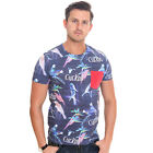 Cuckoo's Nest Men's T-Shirt Birds Of Paradise Navy UK RRP £35
