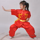 kungfuworld Silk Embroidery Kung fu Changquan Uniform Martial arts Tai Chi Suit