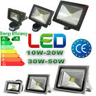 Day/Warm White LED Flood Light Waterproof IP65 Outdoor PIR Senso 10W 20W 30W 50W