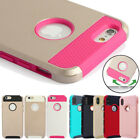 Hybrid Hard&Soft Shockproof Rugged Rubber Cover Case For Apple iPhone 6 / 6 plus