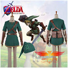 The Legend of Zelda Link Cosplay Costume Custom Made