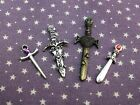 dolls house Swords and Daggers Witch Wizard Spooky Halloween Miniatures