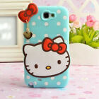 3D Cute Cartoon Case Cover Shockproof Protect Soft Silicone For Samsung Galaxy