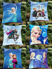 Frozen Sofa Square Pillow Cover Princess Elsa Anna and their Friends case