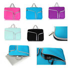 "2 Pocket Laptop Carry Hand Bag Case Sleeve Cover Pouch For Macbook 11""13""15""inch"