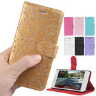 PU Leather Diamond Gem Bling Wallet Card Holder Cover Case for iPhone 6/ 6 Plus