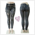 Ripped Slim High Waist Stretch Skinny 2015 New Arrived Fashion Style Women jeans