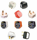 MAINS ELECTRICAL PLUGS 2/5/13/15 AMP SWITCHED HEAVY DUTY STANDARD EASYPULL