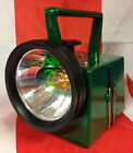 New & Boxed British Army / Railway Bardic Signal Lamp / Military Green Torch
