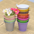 60PCS Heart Pail Bucket Favor Boxes Wedding Party Supply Birthday Gift Candy Box