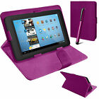 Universal Leather Stand Folding Folio Case Cover Pouch For  7 Inch Tablets Tab