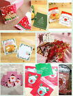 100pcs Merry Xmas Cello Cellophane Cookie Candy Treat Party Cake Sweet Seal Bag