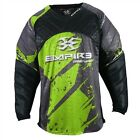 Empire 2015 Prevail F5 Paintball Jersey - Lime - Sizes Small-3XL