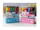 12 Colors Fine Point Write Lovely Rubber Stamp Watercolor Marker Pens Set AH001