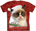 Holiday Grumpy Text Christmas T Shirt Adult Unisex Mountain