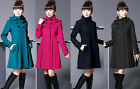 Cashmere Jacket Coat Hooded Winter Parka Long Wool Outwear Women Fashion New Hot
