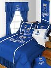 Kansas City Royals Bed in a Bag Drapes Valance Twin to King Comforter