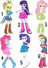 MLP EQUESTRIA GIRLS STICKER WALL DECO DECAL LOT NG MY LITTLE PONY
