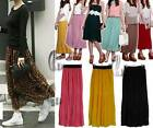 AU SELLER Womens Celeb Style pleated Chiffon Long Skirt Dress dr118