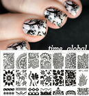 8Patterns BORN PRETTY #L001-L008 Nail Art Stamp Stamping Template Image Plates on Rummage