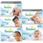 Pampers Swaddlers Sensitive Diapers Size 1, 2, 3, 4 CHEAP!!!