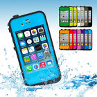 Waterproof Snowproof Shockproof Dirtproof Skin Case Cover For Apple Iphone 4 4s