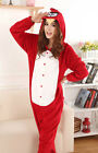 HOT Unisex Adult Pajamas Kigurumi Cosplay Costume Animal Onesies Sleepwear Robe