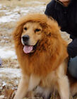 Large Pet Dog Lion Mane Wig Hair Halloween Costume Fancy Dress Chrismas Dift