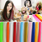 Fashion Colorful Highlight Clip In Synthetic Hair Extension 12 Colors
