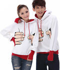 Big hand Catch you ! Couples Hoodie Sweater Leisure Thick warm Women Men SK5080