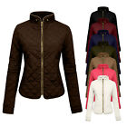 NE PEOPLE Women's Lightweight Padded Puffer Zip up Quilted J